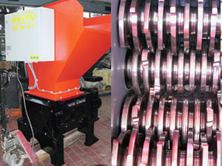 Four-Shaft-Shredder Untha RS 30